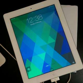 White Ipad 3rd Gen. 32GB Wifi+3g Excellent Condition. No Defects Or Dents