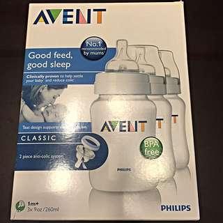 Philips Avent Classic Feeding Bottles 3pcs