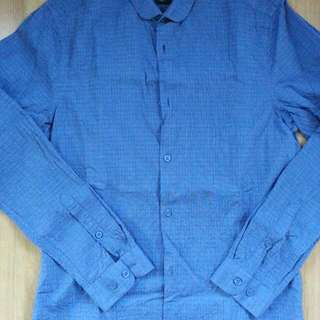 Authentic H&M Club Collar Work Shirt