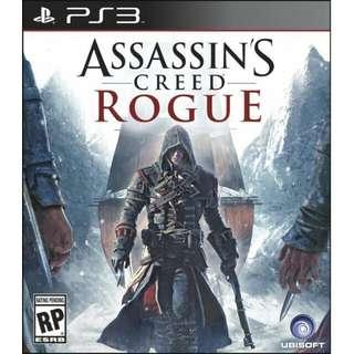 Assasin's Creed Rogue Playstation 3