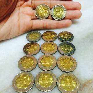 50th Anniversary Singapore $5 Coin
