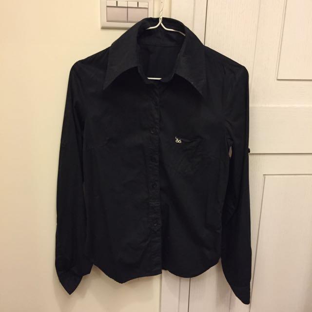 二手黑色襯衫