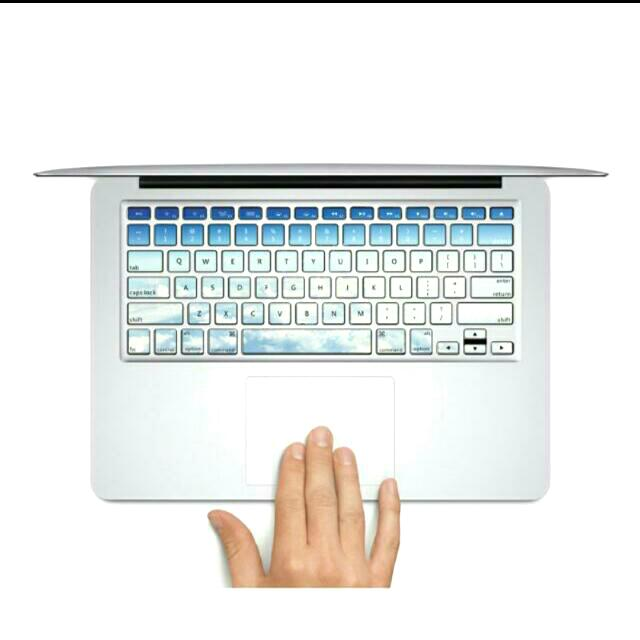 "Clear Blue Skies MacBook AIR/PRO 13/15"" Keyboard Decals (We Are Back!)"