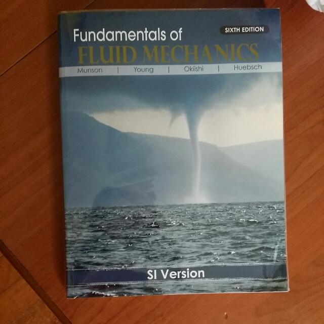 Fundamentals Of Fluid Mechanics Textbook