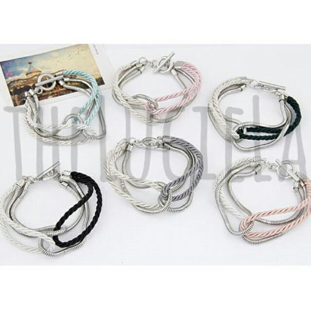 Gelang Fashion Korea- Chain