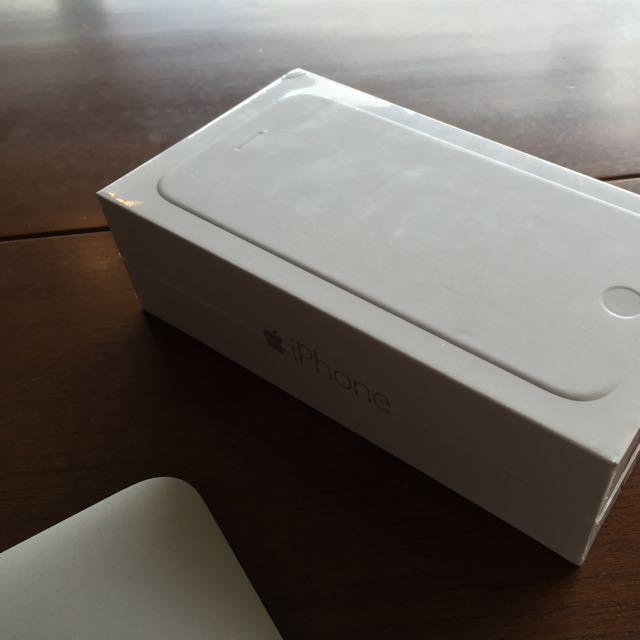 IPhone6 4.7吋 銀色 128G 全新未拆封