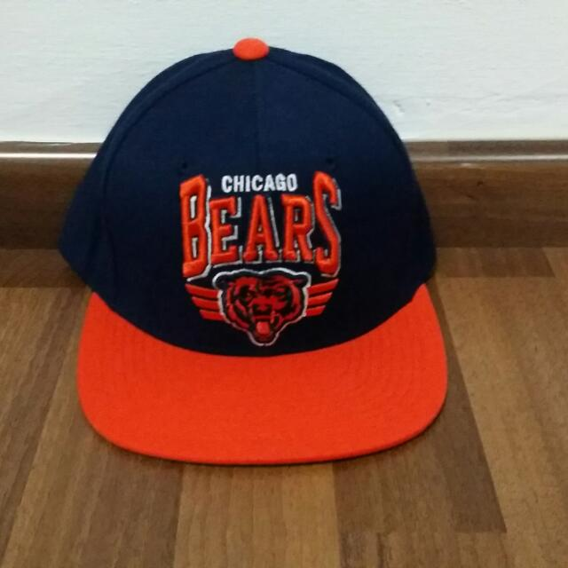 sale retailer 0fdc5 9bb4c Mitchell & Ness Chicago Bears Snapback