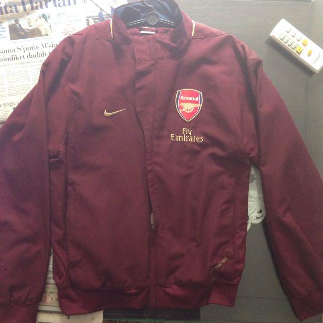 292623b0e9 Nike Arsenal Maroon Windbreaker