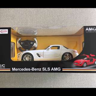 Mercedes Benz SLS AMG RC Car Toy ( White)
