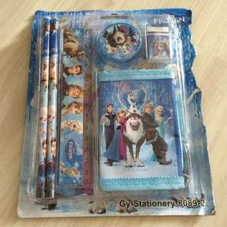 Frozen Theme Stationary Set
