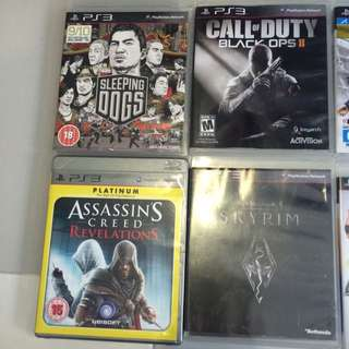 PS3 Games For Sale!