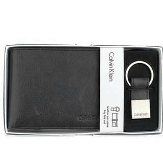 Calvin Klein Premium Wallet (Plus Key Holder Gift Set)