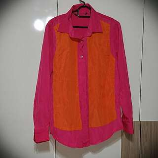 BN Pink And Orange Top (Made In Spain)