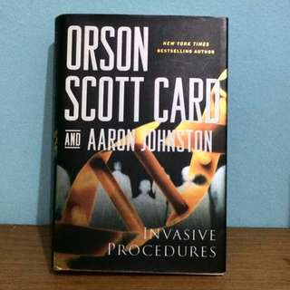 Invasive Procedures, Orson Scott Card & Aaron Johnson