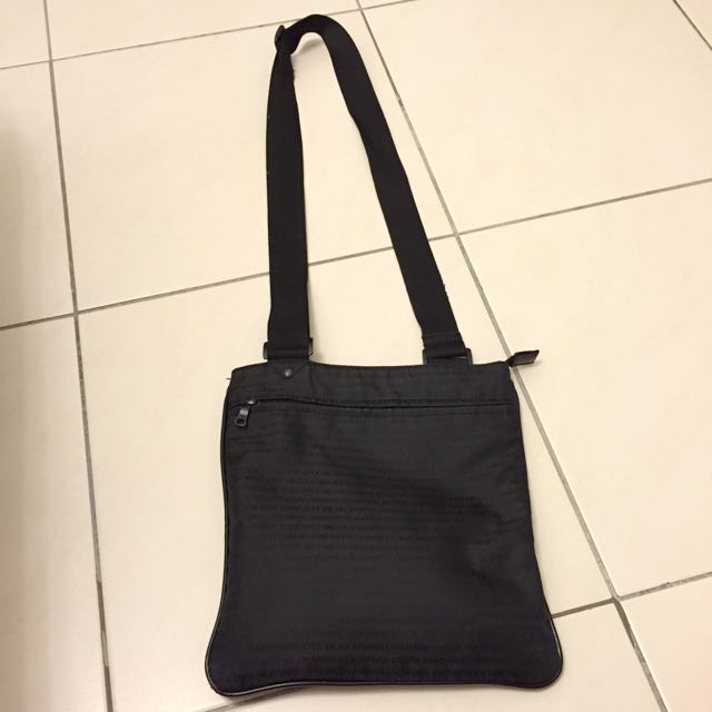 3b997fb815dd Armani Exchange Sling Bag - Preloved