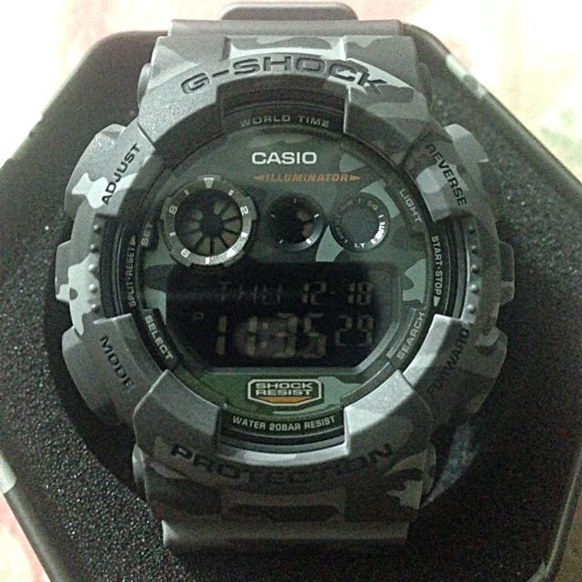 GShock Camou