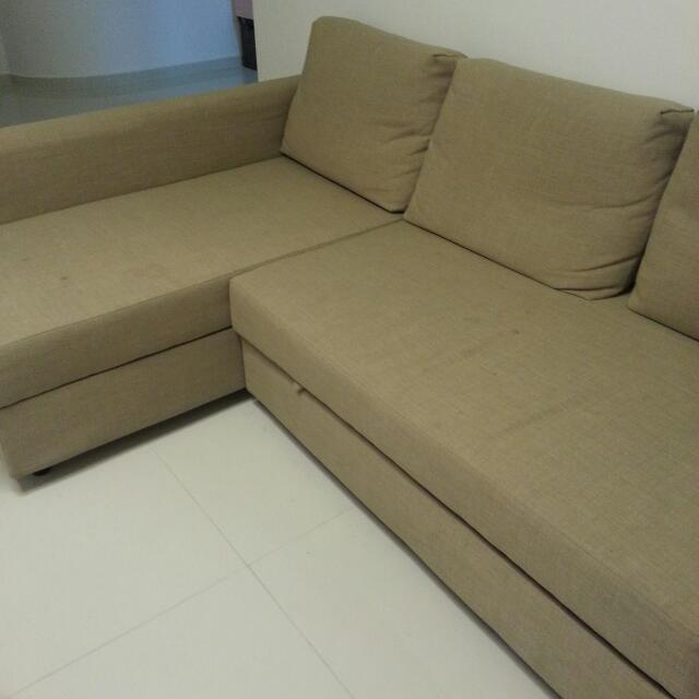 ikea sofa cum bed furniture on carousell rh sg carousell com