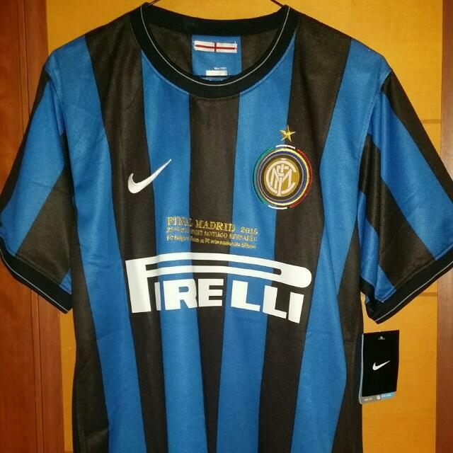 low priced 6ed5e 8449c Inter Milan Soccer Jersey - Home 2009 - 2010, Sports on ...