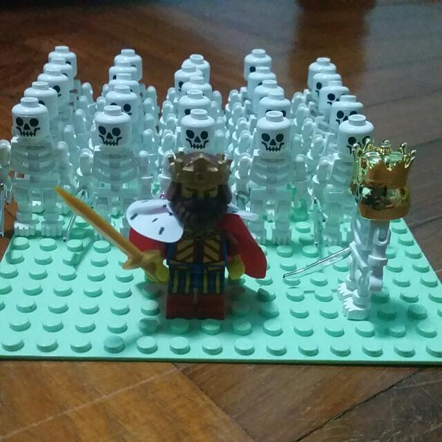 Non Lego Skeleton, Toys & Games on Carousell