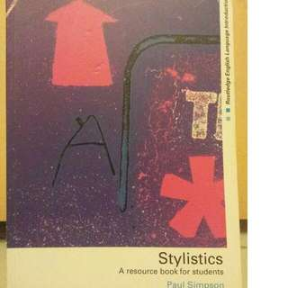 Stylistics A Resource Book For Students by Paul Simpson.  Literature For Children By David Russell