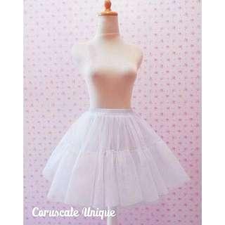 Puffy Tulle Petticoat Skirt