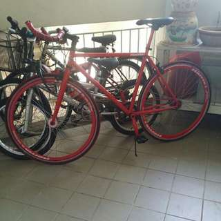 Harris Fixie (Brakes On Both Tires)(reserved)