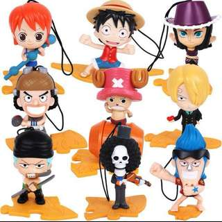 One Piece Mcdonalds Toys