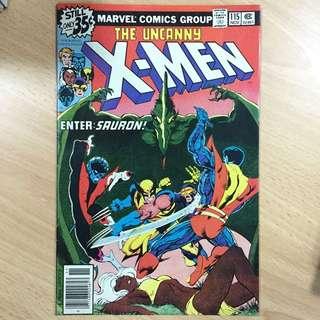 (3 Bks) Uncanny X-men 115 , 116 & 119