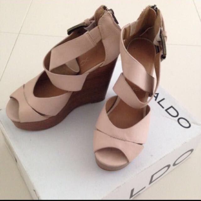 Aldo Beige Wedge