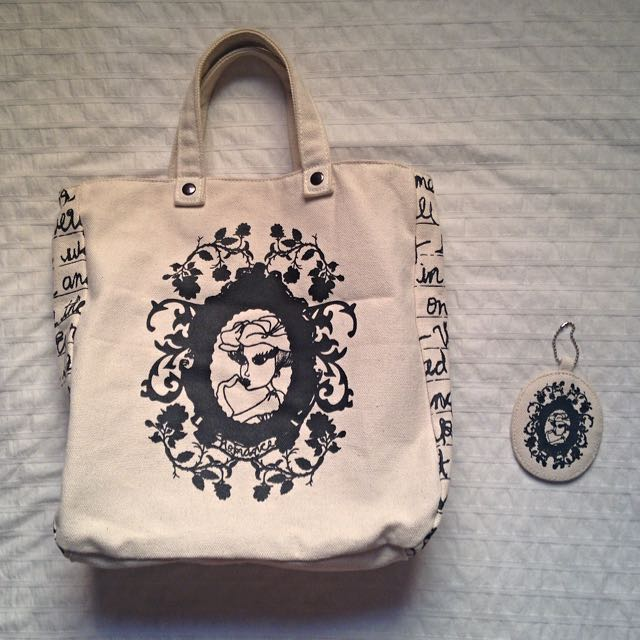 BN FOREVER 21 Canvas Tote