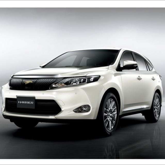 Panoramic Roof Cars >> Toyota Harrier 2 0 Premium Panoramic Roof Cars On Carousell