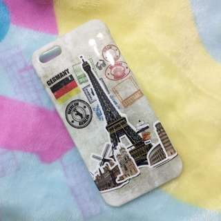 BN iPhone 5/5s soft cover with European landmarks