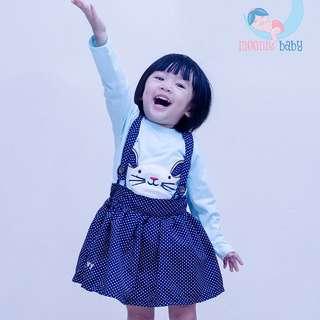 Clearance Sale ! Baby Girl Rabbit Dress 2pcs