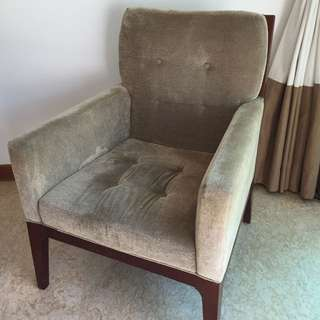 Comfortable Upholstered Arm Chair