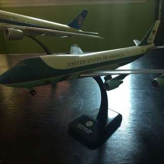 US air force One 747 Model Aircraft