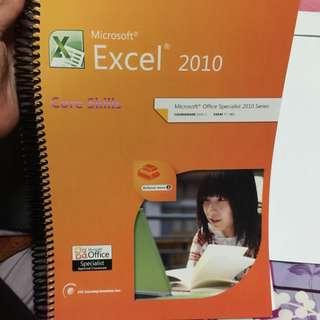 MOS Microsoft Excel 2010 Specialist Courseware