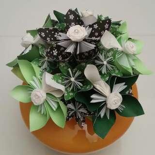 Unique Origami Hand Bouquet!
