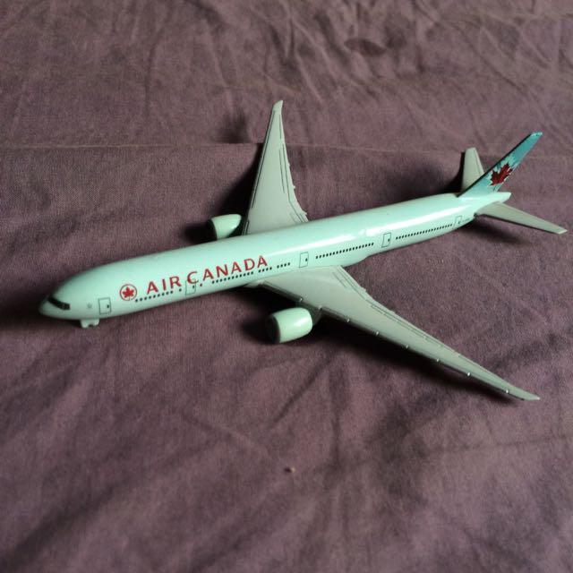 Air Canada Model Aircraft