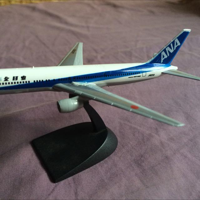 ANA Airbus 747 Model Aircraft