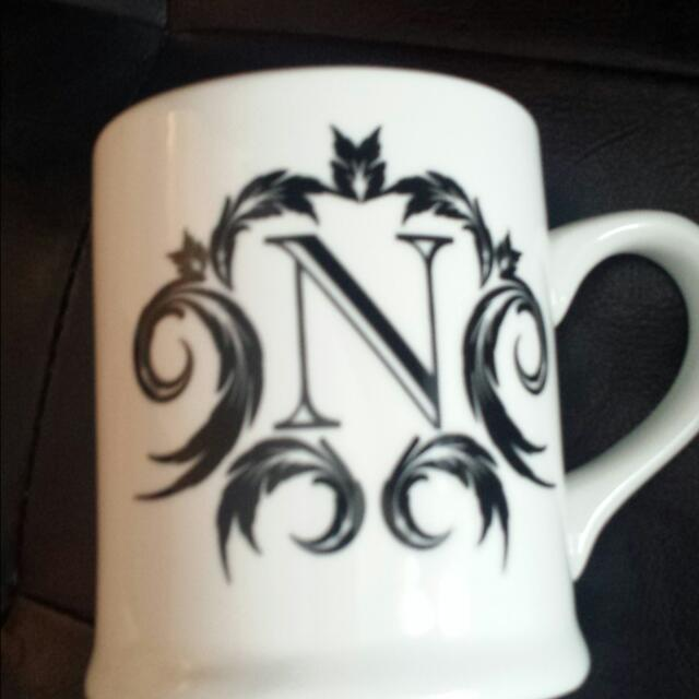"COFFEE MUG ""N"""