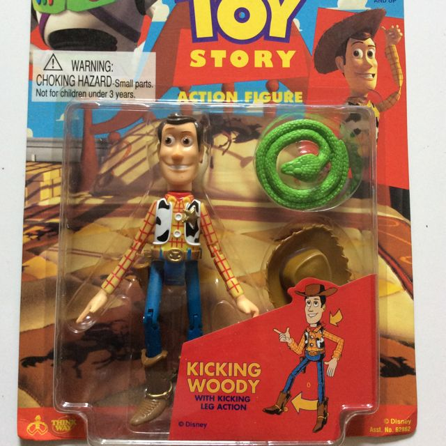 d214f9554 Kicking Woody. Toy Story Original Release, Toys & Games on Carousell