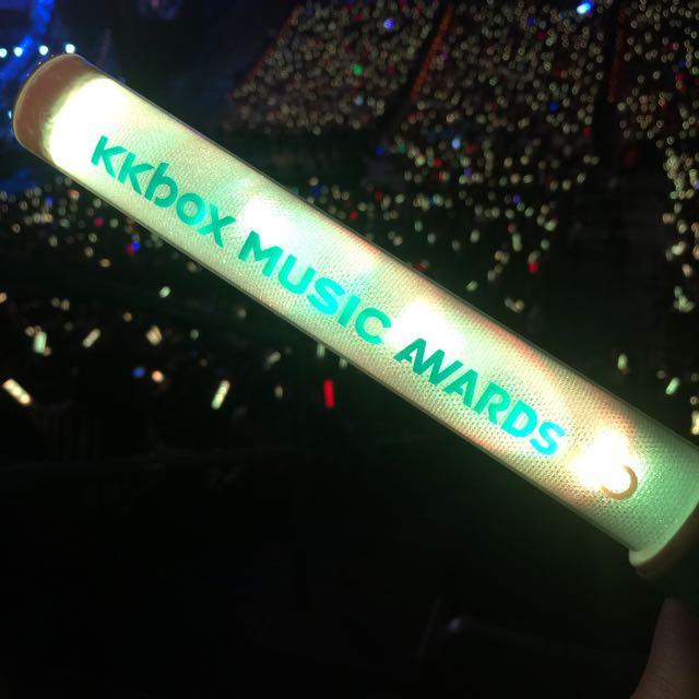 KKbox Music Award 互動 LED 螢光棒 (2015)