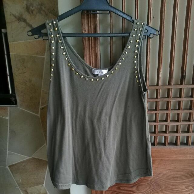 Temt Studded Tank Top