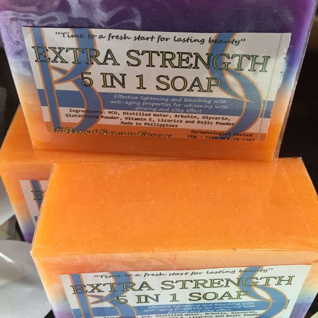 Xtra Strength 5 In 1 Soap