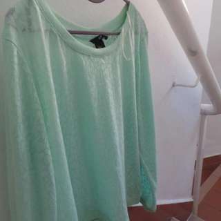 Mint Green H&M Pull Over