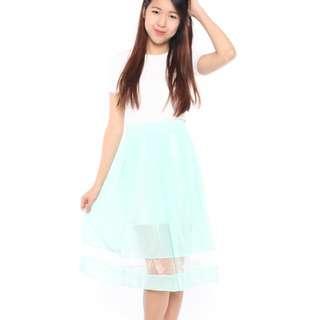 Mint Colour Skirt