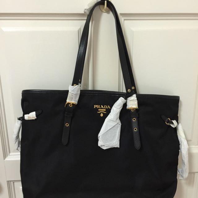 9b4d2df0dd29 ... australia brand new prada tessuto saffiano shopping tote br4997 luxury  on carousell 1a98e b2cee