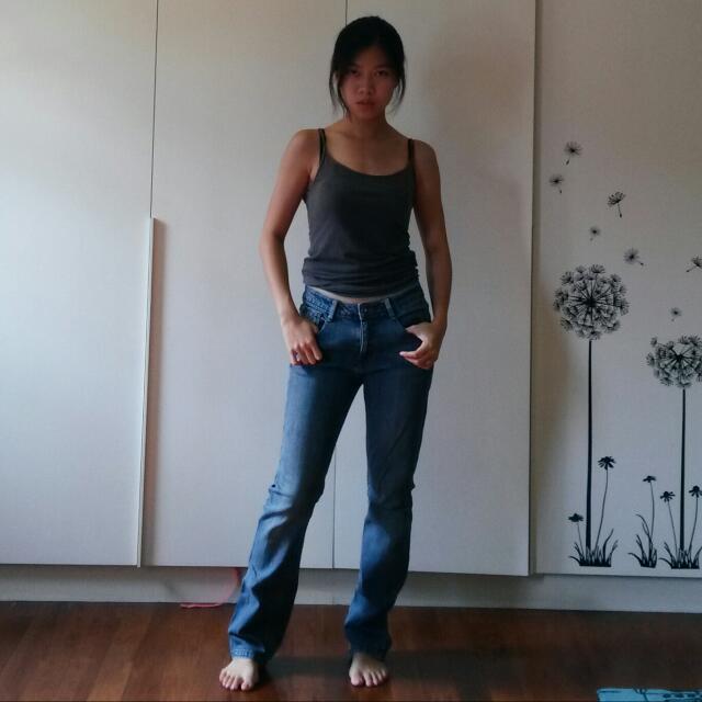 Old Regular Cut Jeans