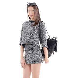 HVV Tweed suit (Top and Skirt)