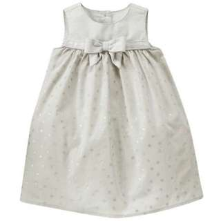 BN Size 18-24m Gymboree Silver Stars Dress For Kid Girl - Pkgymboree Pkgirl